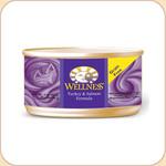 Wellness Turkey & Salmon Cat Can