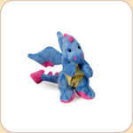 One Plush Blue Mini Dragon