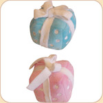 Birthday Plush Gift Musical Toy---Pink or Blue