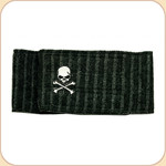 Belly Band--Skull in Cotton