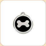 Enamel/Stainless Dog Bone #2 11 Color Options