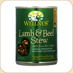 Wellness Lamb & Beef Stew Dog Can