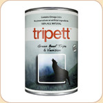 Tripett Green Beef Tripe & Venison Dog Can