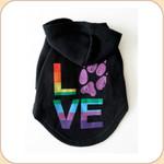 LOVE Tie Dye Charity Hoodie