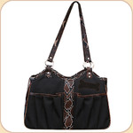 Black & Brown Bon Ami Tote