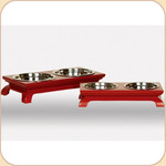 Lacquered Red Diner