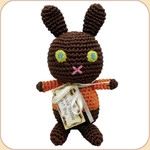 Crocheted Choco Bunny