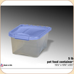 Van Ness Food Storage Container--5 lb.