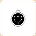 Enamel/Stainless Tribal Heart 11 Color Options