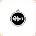 Enamel/Stainless Fish Bone  11 Color Options