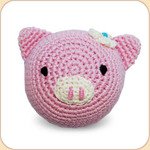 Crocheted Piggy Ball