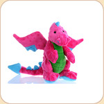 One Plush Neon Pink Mini Dragon
