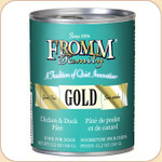 Fromm GOLD Grain-Free Duck & Chicken Pâté (Canned)