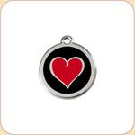 Enamel/Stainless Heartbeat