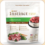 Nature's Variety Instinct Frozen Raw Lamb 3 & 6 lb.
