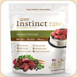 Nature's Variety Instinct Frozen Raw Venison 3 & 6 lb.