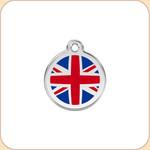 Enamel/Stainless UK Flag