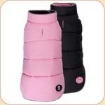 Puffer Reversible Coat Pink & Black