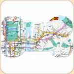 NYC Subway Map Placemat