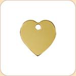 Flat Brass Heart