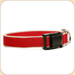 Eco-Friendly Collar--red & tan