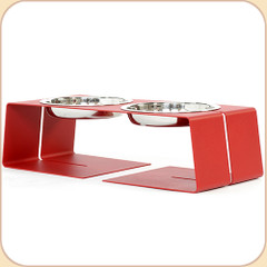 Size Small diner in Red--1 pint bowls