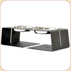 Size Small diner in Black--1 pint bowls