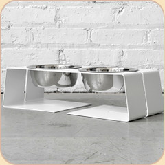 Size Small diner in White--1 qt bowls