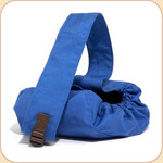 Canvas bag in Royal Blue.