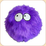One Ball o' Purple Fur--2 sizes