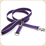Eco-Friendly Leash--purple & lavender