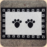 Woven Paws Placemat--non skid