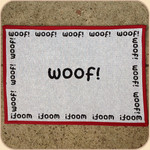 Woven Multi-Woof Placemat--non skid