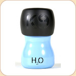 H2O 9.5 oz. Portable Water Bottle--Blue