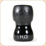 H2O 9.5 oz. Portable Water Bottle--Black