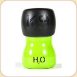 H2O 9.5 oz. Portable Water Bottle--Lime