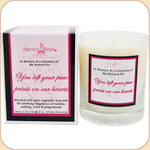 Pawprints on Our Hearts--Remembrance Candle