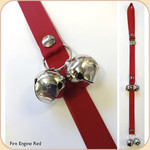 Pup Training Bells--Red