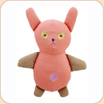 One Canvas Big Pink Bunny Toy