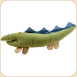 One Canvas Big Green Crocodile Toy