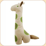 One Canvas Big Spotted Giraffe Toy