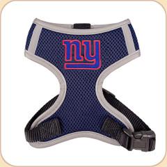 NY Giants logo on harness chest.