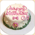 You may personalize your cake as you wish!