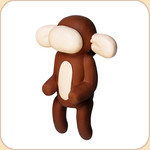 Balloon Brown Monkey