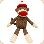 Sock Monkey--with Cap