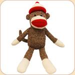 Sock Monkey--with Cap