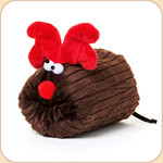 Holiday Reindeer in Brown Cord--2 sizes