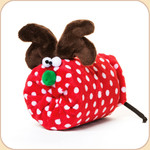 Holiday Reindeer in Polka Dot--2 sizes