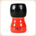 H2O 9.5 oz. Portable Water Bottle--Red