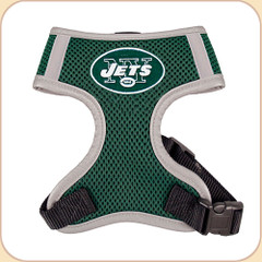 NY Jets on harness chest.